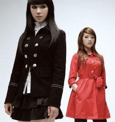 时尚美女门童制服