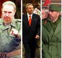"""古巴卡斯特罗兄弟橄榄绿色的军装,令人联想起蝙蝠侠堡垒衣橱里的同一服装。伊朗总统内贾德追求繁复美学。深色裤子配衬衫不系领带,再套上卡其布夹克,称得上是""""专制者商务休闲装""""。"""