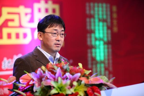 中国电子商务协会文明节组委会秘书长卢建新致辞