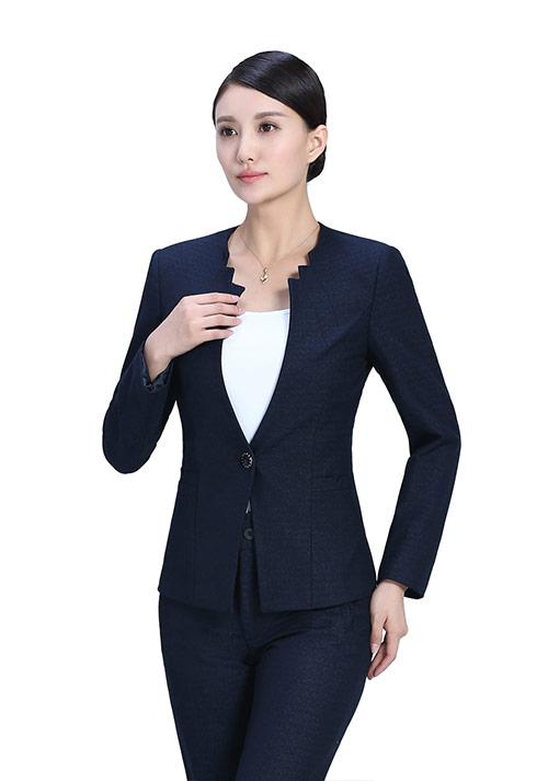 女士职业装制服面料的选择