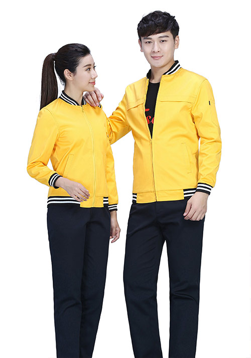 黄色工作服