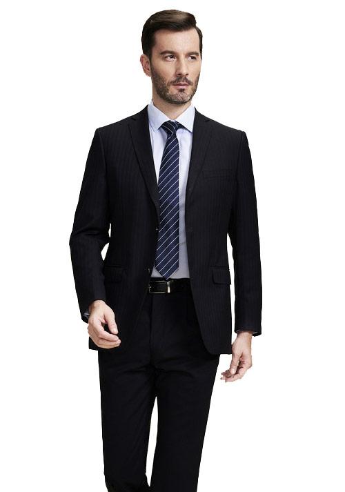北京职业装男短袖衬衫定做之工作服的几种穿法