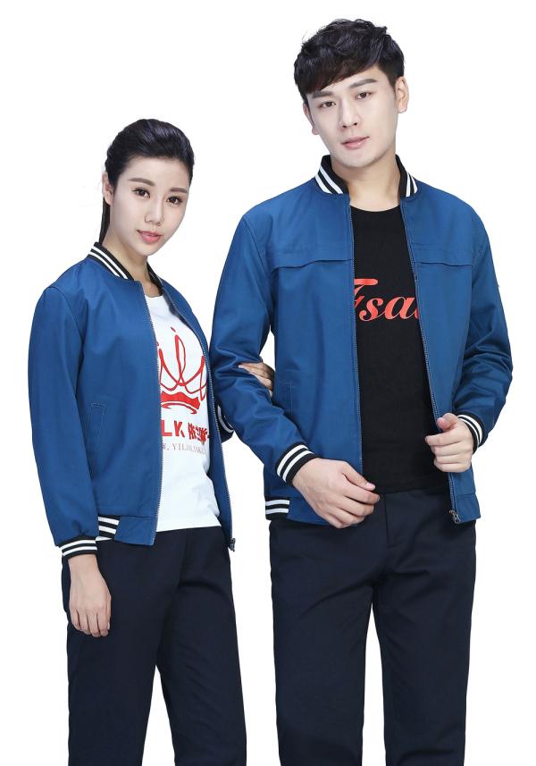 北京物流行业的秋季工作服定制款式