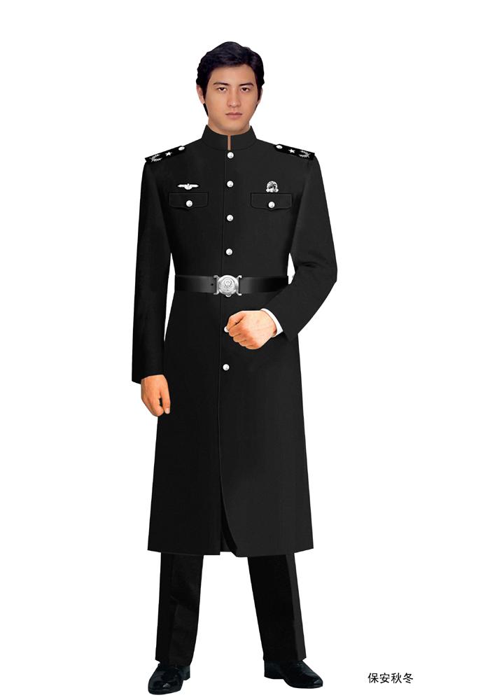 保安服的定做标准和使用的面料